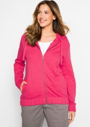 Sweatjacke mit elastischem Saum, bpc bonprix collection