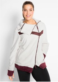 Kuschelige Langarm-Fleecejacke, bpc bonprix collection