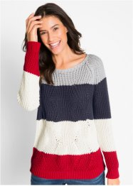 Pullover, gestreift, bpc bonprix collection