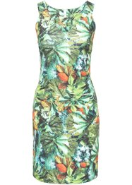 Kleid mit tropical print, BODYFLIRT boutique