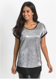 Shirt mit Metallic-Effekt, BODYFLIRT