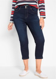 7/8 Push-up Jeans mit Bequembund, Straight, bpc bonprix collection