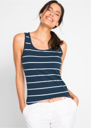 Stretch-Tank-Top mit Druck (2er-Pack), bpc bonprix collection
