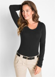 Langarm Stretch-Body, bpc bonprix collection