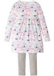 Kleid + Leggings (2-tlg.), bpc bonprix collection