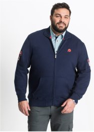 Sweatjacke mit Stehkragen Regular Fit, bpc selection