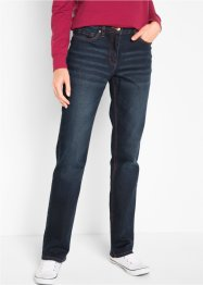 Baumwoll-Stretch-Jeans mit Bequembund, Straight, bpc bonprix collection
