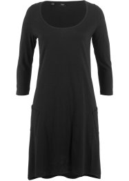 Flammgarn-Shirtkleid, 3/4-Arm, bpc bonprix collection
