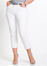 7/8-Stretchjeans mit Perlen, bpc selection