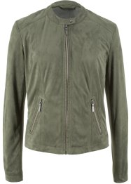 Veloursleder-Imitat-Jacke, bpc bonprix collection