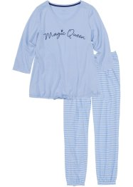 Pyjama mit 7/8 Hose, bpc bonprix collection