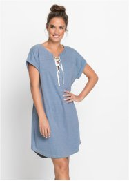 Oversized Nachthemd in Denim-Look, bpc bonprix collection