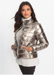 Steppjacke in Metallic-Optik, BODYFLIRT