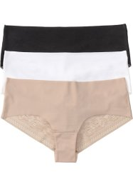 Mikrofaser Panty (3er-Pack), bpc bonprix collection