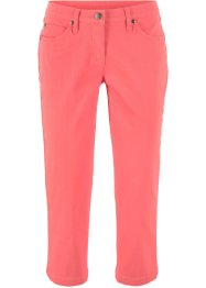 Stretch-3/4-Hose aus strukturiertem Twill, bpc bonprix collection