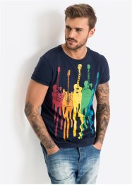 T-Shirt, Slim Fit, RAINBOW