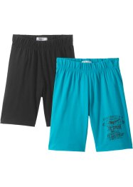 Jungen Jersey-Shorts (2er-Pack ), bpc bonprix collection