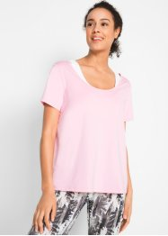 Sport-Set, T-Shirt mit Bustier-Top, designt von Maite Kelly, bpc bonprix collection