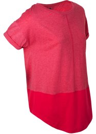 Kurzarm-Shirt mit Kontrastdetails, bpc bonprix collection