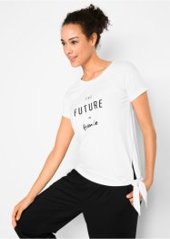 Kurzarm-T-Shirt mit Druck, bpc bonprix collection