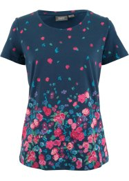 Kurzarmshirt mit Blumendruck, bpc bonprix collection