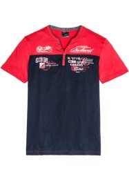 T-Shirt in 2-in-1-Optik Regular Fit, bpc selection