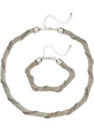 2-tlg. Set Kette und Armband, bpc bonprix collection