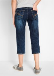 Stretch-Jeans mit Bequembund in 3/4-Länge, bpc bonprix collection