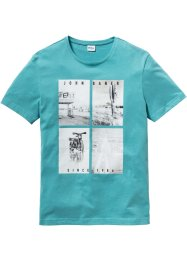 T-Shirt mit Fotodruck Regular Fit, John Baner JEANSWEAR