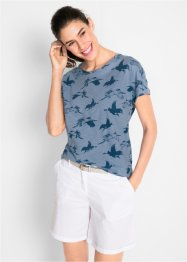 Shirt mit Kranichdruck, bpc bonprix collection