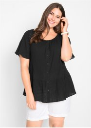 Carmen-Bluse aus Crêpe, bpc bonprix collection