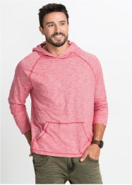 Langarmshirt mit Kapuze Regular Fit, bpc bonprix collection