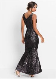 Pailletten-Maxikleid, BODYFLIRT boutique