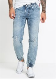 Stretch-Schlupf-Jeans Slim Fit Straight, RAINBOW