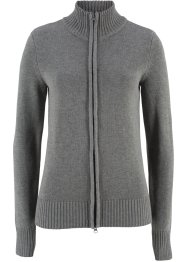 Basic Baumwollstrick-Jacke, bpc bonprix collection
