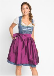 Kniefreies Dirndl mit Schürze, bpc bonprix collection