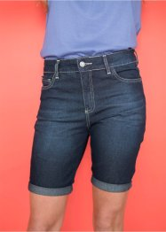 Shorts jeans com stretch