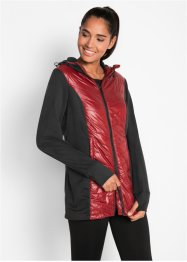 Leichte Steppjacke mit Fleeceeinsatz, bpc bonprix collection