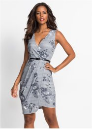 Kleid mit floralem Checkprint, BODYFLIRT boutique