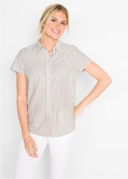 Kurzarm-Bluse, bpc bonprix collection