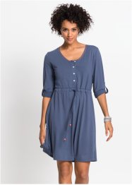 Shirtkleid, 3/4-Arm, John Baner JEANSWEAR