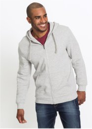 Sweatjacke mit Kapuze, Regular Fit, bpc bonprix collection