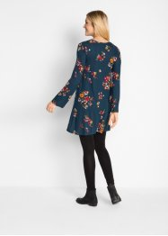 Shirtkleid mit Print, Langarm, bpc bonprix collection