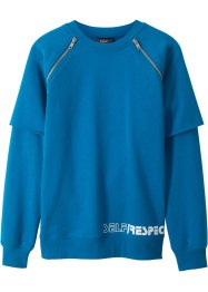 Layersweatshirt mit Zippern, bpc bonprix collection