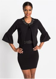 Kurze Jacke mit Perlen-Applikationen, BODYFLIRT boutique