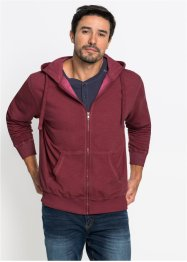 Sweatjacke Regular Fit in gewaschener Optik, bpc bonprix collection