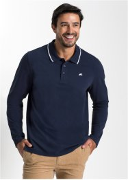 Herren Langarm-Poloshirt, Regular Fit, bpc bonprix collection