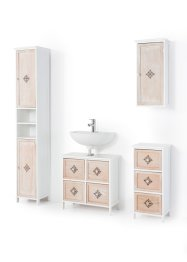 Badezimmer Hochschrank mit Ornament, bpc living bonprix collection