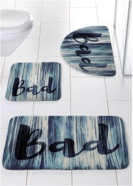 "Badematte ""Bad"", Memory Schaum, bpc living"