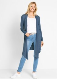 Lange Shirt-Jacke mit Zipfelsaum, bpc bonprix collection
